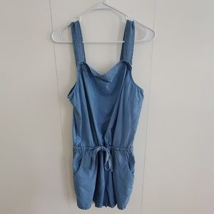 Old Navy Chambray Romper